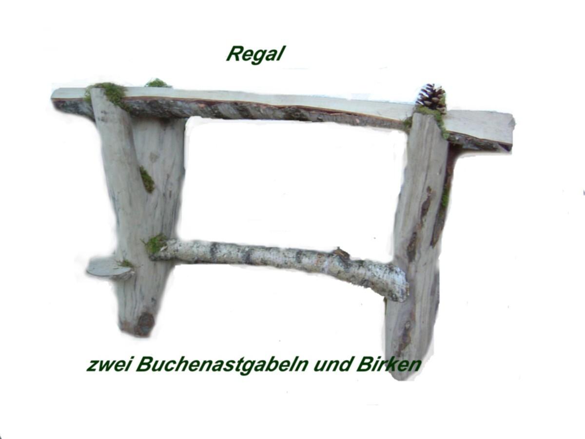 Buchenholz Regal