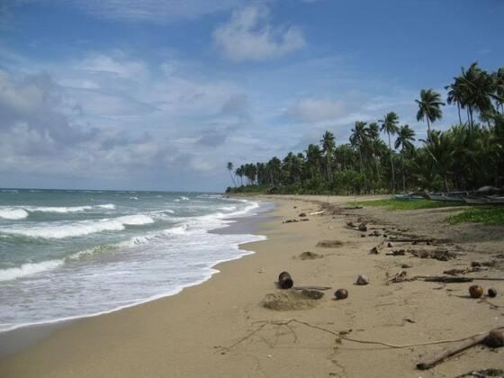 Strandgrundstück auf Tablas.